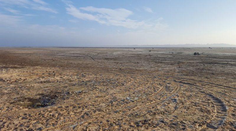 Na zdjęciu zbiornik retencyjny Jeziorsko, stan aktualny.