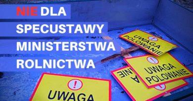 18 stycznia Poznań – STOP Lex Ardanowski!