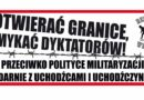 14 marca Poznań – Otwierać granice, zamykać dyktatorów!