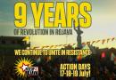 9 lat rewolucji w rożawie. Wezwanie do akcji